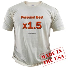 Personal Best x1.5 Value T-shirt